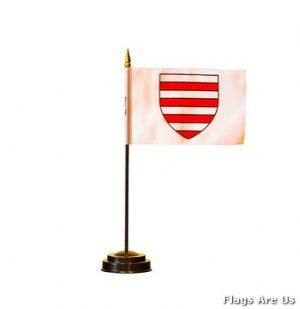 Jersey Parish Table Flags